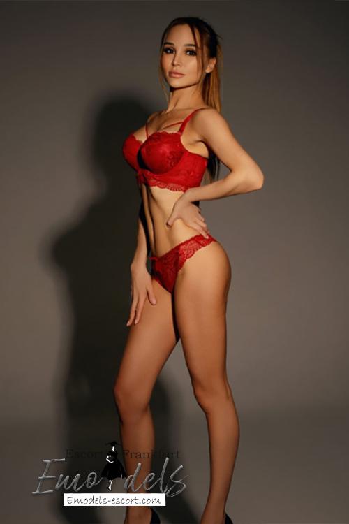 Sexy Brunette prostitute